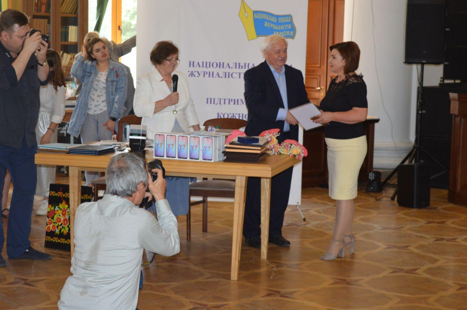 У столиці День журналіста відзначили на Хрещатику