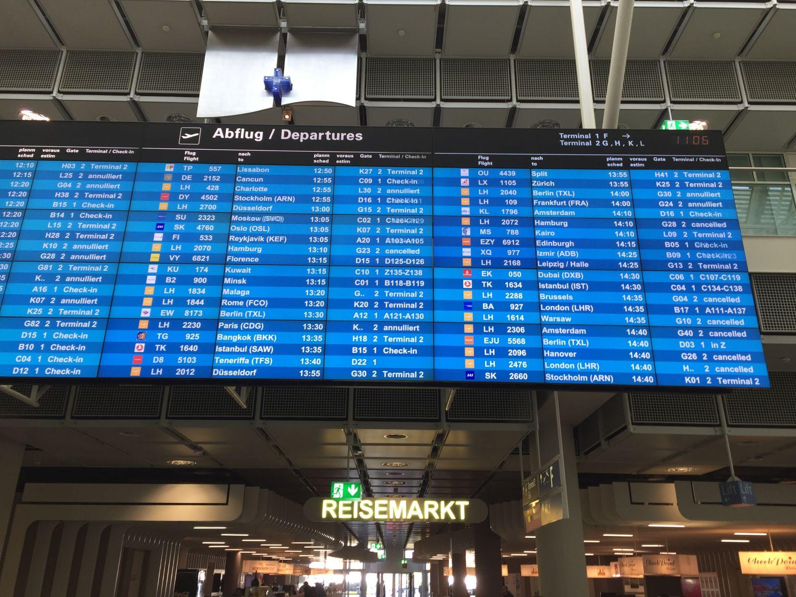 Страйк у Lufthansa: скасовано 1300 рейсів (ФОТО)